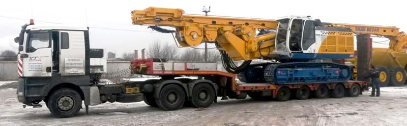Перевозка буровых установок в Нижнем Новгороде