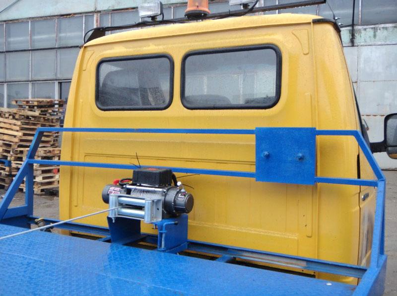 Эвакуатор с лебедкой в Нижнем Новгороде