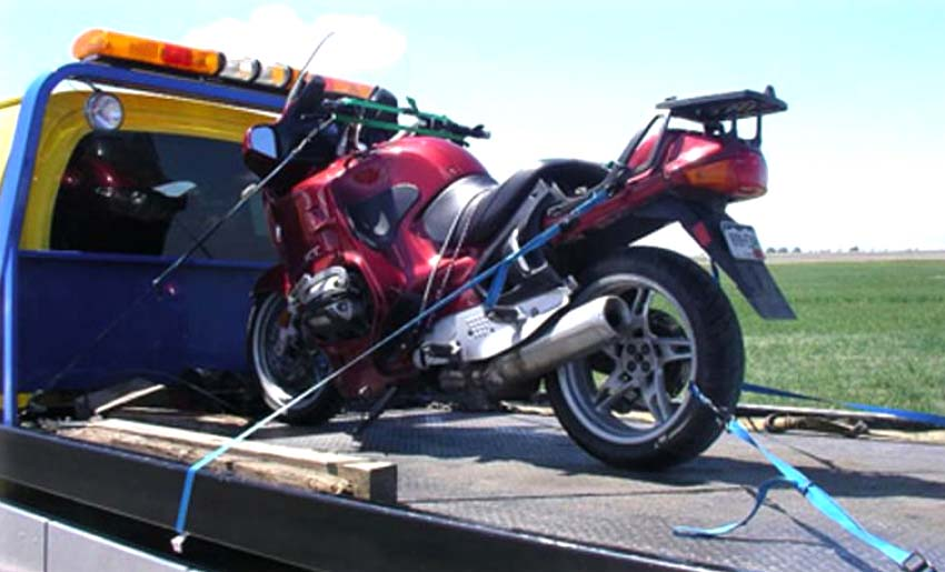 Эвакуация мотоцикла в Нижнем Новгороде