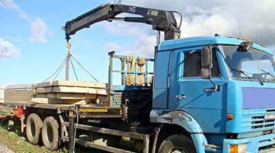 Перевозка плит перекрытия в Нижнем Новгороде