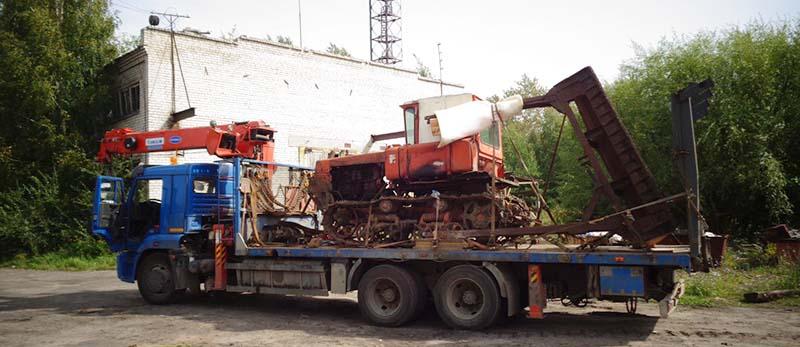 Перевозка сельскохозяйственной техники в Нижнем Новгороде