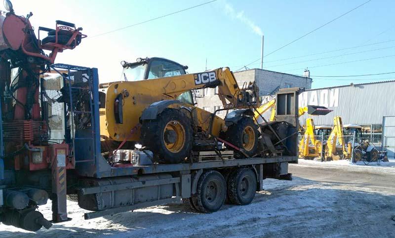 Перевозка строительной техники в Нижнем Новгороде