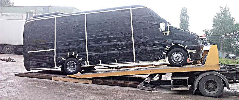 Эвакуатор микроавтобусов Спасатели НН
