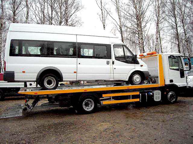 эвакуация микроавтобусов