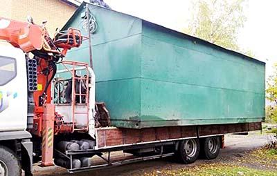 Перевозка гаражей в Нижнем Новгороде