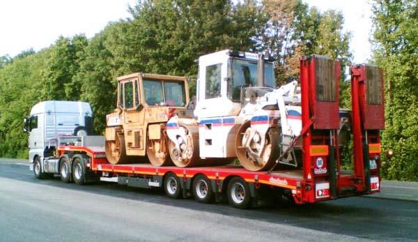транспортировка дорожного катка в «Спасатели-НН»