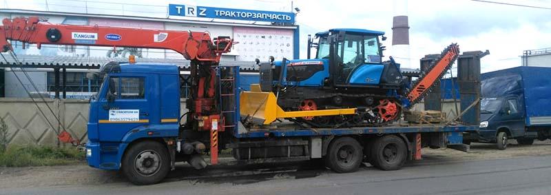 Перевозка дорожной техники в Нижнем Новгороде