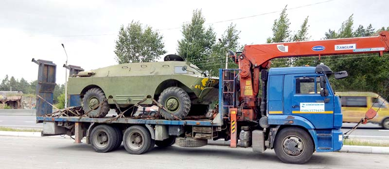 Перевозка военной техники в Нижнем Новгороде